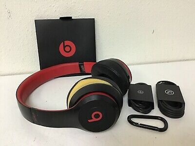 Beats by Dr Dre Solo3 Wireless Headphones (Decade Collection) RIPPED EARPAD (#9)