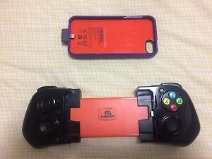 iPhone 5/5S/SE controller + battery case