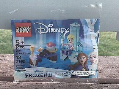 Elsa's Winter Throne Polybag Lego Set From Disney's Frozen 2
