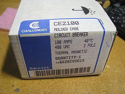 Challenger Circuit Breaker Ce2100 Style 6626c02g15 Nsn 5925-01-044-3989