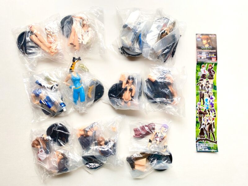 NEW Dead or Alive Figures Lot of 11 Secret Ultimate HGIF Gashapon Costume Var