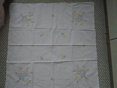 VINTAGE WHITE COTTON TEA CLOTH