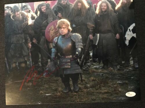 Game of Thrones Peter Dinklage Autographed Signed 11x14 Photo JSA COA #3