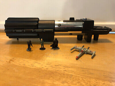 Micro Machines STAR WARS Darth Vader's Lightsaber & Deathstar Trench Complete