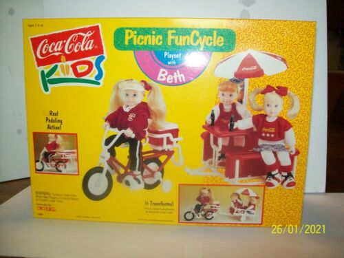 Coca Cola Kids Picnic Funcycle Playset With Beth From 1993