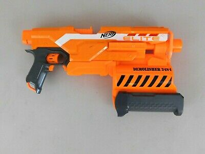 Nerf N-Strike Elite - Demolisher 2 in 1 Blaster Dart Gun - Main Blaster Only