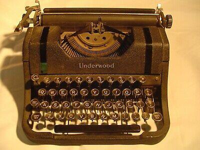 "VINTAGE UNDERWOOD TYPEWRITER -  It's time to type  ""OLD SCHOOL""  !"