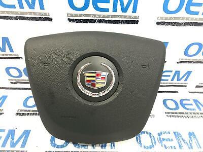 11 12 CADILLAC SRX driver/left side steering wheel air bag airbag black OEM