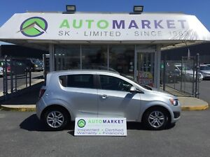 2012 Chevrolet Sonic 2LT 5-Door BLUETOOTH, LOADED!