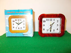 Quartz Alarm Clock, New in Original Box, Letters Easy to Read