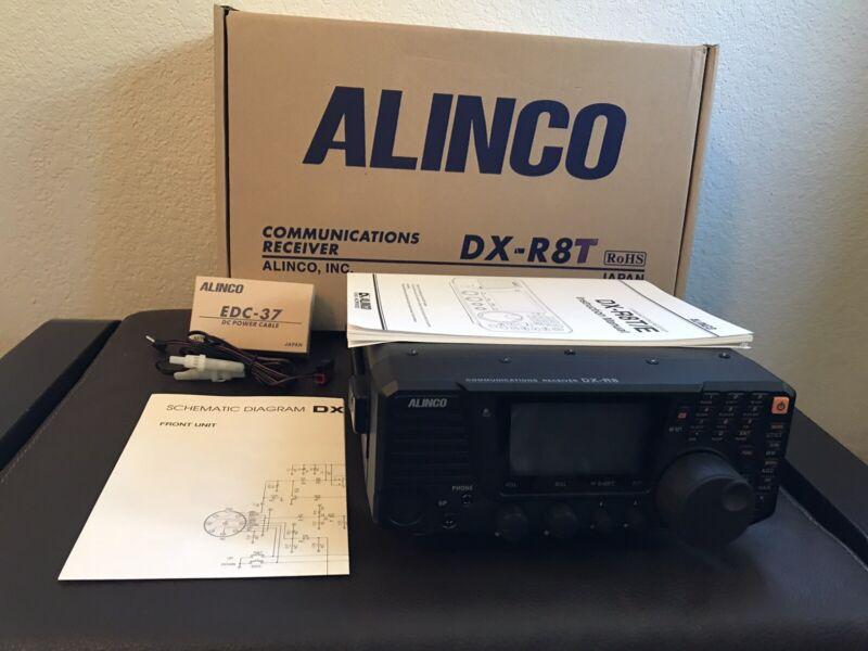 Alinco DX-R8T Shortwave Receiver AM SSB CW Amateur DX Radio ***With Handle!!***