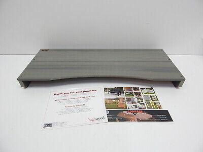 Highwood AD-LAPT1-CGE Adirondack Laptop/Reading Table, Coastal Teak BLEMISH