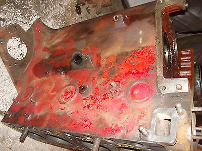 Massey Harris 33 Tractor Good Original Mh 4 Cyclinder Gas Engine Motor Block