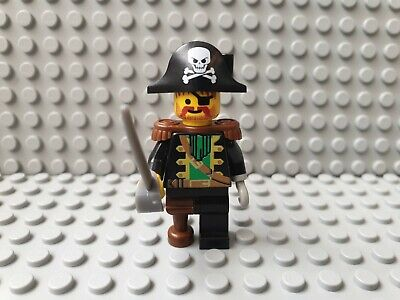 Lego Figur Piraten CAPTAIN RED BEARD Sammelfigur 6250 - Red Beard Pirate
