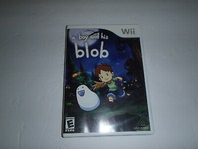 A Boy and His Blob: Trouble on Blobolonia (Nintendo Wii, 2009) David Crane