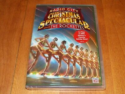RADIO CITY CHRISTMAS SPECTACULAR THE ROCKETTES NY Time Life Christmas DVD NEW ()