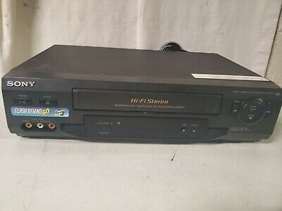 Sony VCR SLV-N51 4 Head HiFi Stereo Video Cassette Player VHS Recorder TESTED