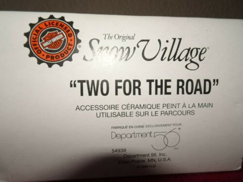 Dept 56 - Two for the Road (Yellow) - Snow Village Accessories - 54939