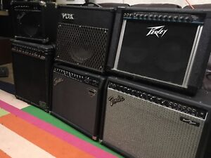 GUITAR AMPS!!! REASONABLE PRICES!! PERFECT GIFT!!!!