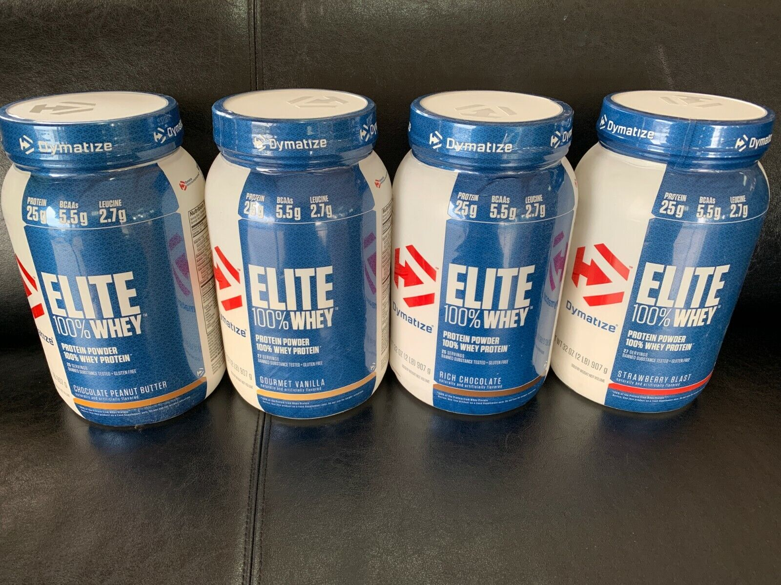 DYMATIZE ELITE 100% WHEY 2 LB Protein Powder ~CHOOSE FLAVOR~