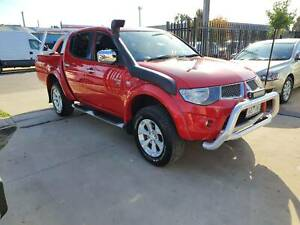 2012 Mitsubishi Triton GLX-R Duel Cab Ute 4x4 TURBO DIESEL LOW KMS Williamstown North Hobsons Bay Area Preview