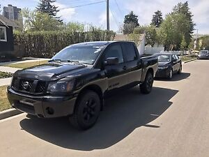 2005 Nissan Titan. Blacked out