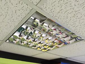 CAT2 CEILING LIGHT 600x600mm Recessed - IDEAL FOR OFFICES!