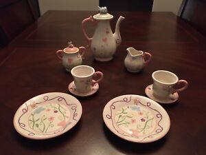 Kids Tea Set  (Bombay Kids - garden design). Made of China