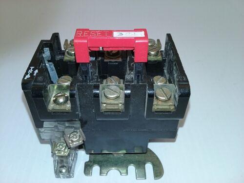 SQUARE D 9065 SEO-5 OVERLOAD RELAY MELTING ALLOY 600V 25 AMP