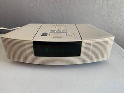 Bose Radio CD Player Alarm Clock Auxiliary iPod Inputs AWRC-1P Tested Working!