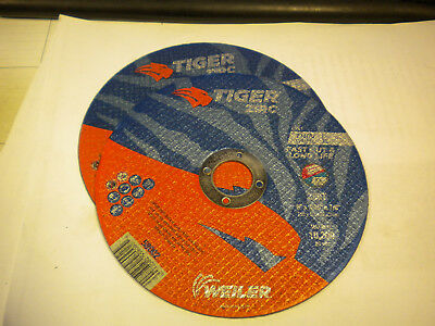 Weiler 58002 6x.045x78 C Zirc Cut Off Wheel Lot Of 2