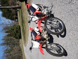 Two Dirt Bikes