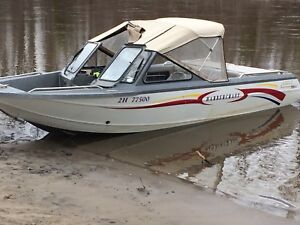 2001 Harbourcraft 2075 Spirit jet boat for sale