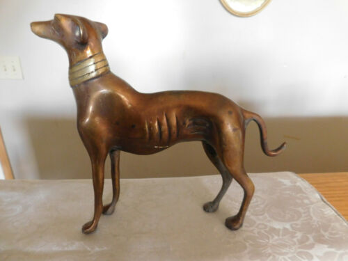 Bronze  Great Dane  figurine