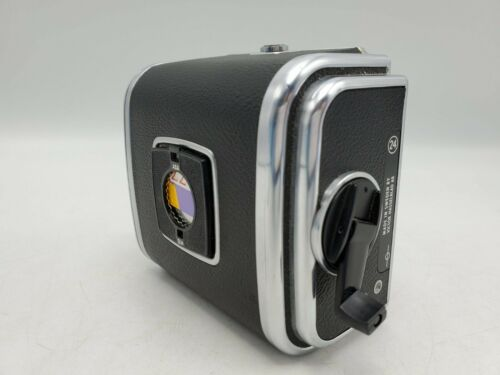 1971 - Hasselblad V System Camera A24 220 6x6 Roll Film Back w/ Matching Insert