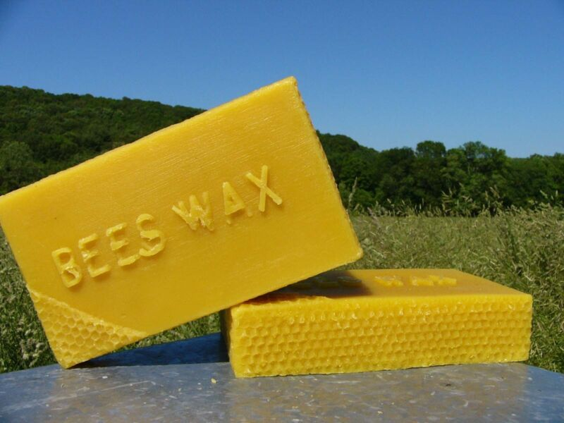 3 Pounds Pure Beeswax~Yellow Bees Wax~Chemical free ~ FREE SHIPPING