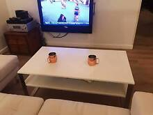 White Ikea Coffee Table Rose Bay Eastern Suburbs Preview