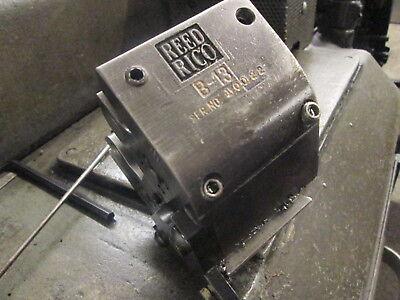 Reed Rico Model B-13 18-1316 Roll Thread Attachments W1 Max Thread Length
