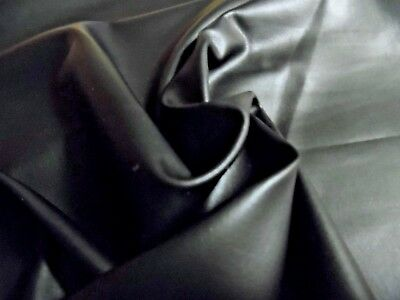 FAUX LEATHER (PLEATHER)~JET BLACK~THIN AND SOFT~DOLL SHOES~PURSES~
