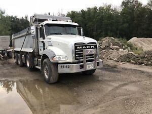 2012 mack granite.