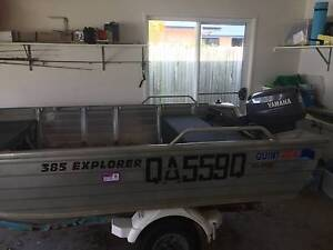 Quintrex 385 Explorer 6 Months Rego *Broken Trailer Tewantin Noosa Area Preview