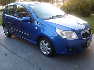 2009 Holden Barina in blue 5 speed manual cold air update Wingham Greater Taree Area Preview