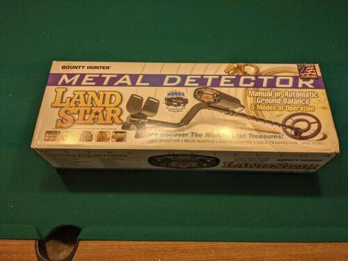 BOUNTY HUNTER LAND STAR METAL DETECTORS FAST METAL DETECTOR