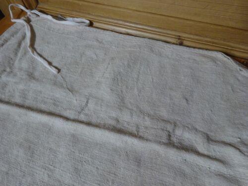 Antique European Feed Sack GRAIN SACK Pink Stripe 10156