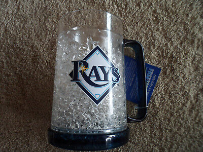 Rays Mug - MLB TAMPA BAY RAYS MUG FREEZER CRYSTAL FUN DUCK HOUSE CUP