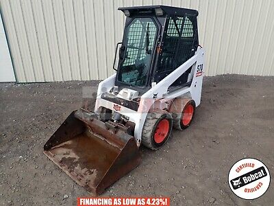 2014 Bobcat S70 Skid Steer Erops Heat Aux Hyd Handfoot Controls 382 Hours 24 Hp