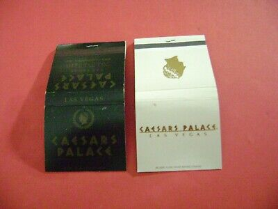 "Lot of 2 Different Match Books, ""Caesar's Palace Casino, Las Vegas, complete."