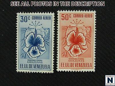 NobleSpirit No Reserve (TH2) Exceptional Venezuela C504-C505 MH VF = $85 CV
