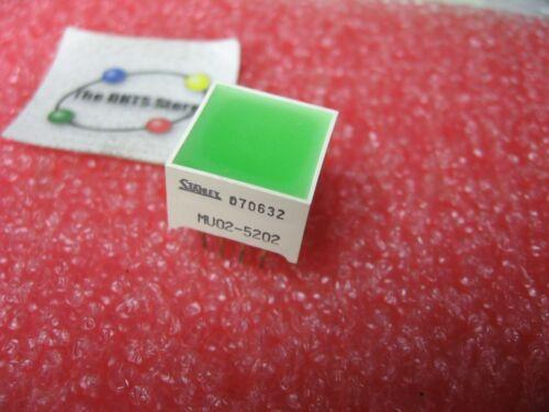 Stanley MU02-5202 4-LED Light-Bar Array Green 15mm - NOS Qty 1