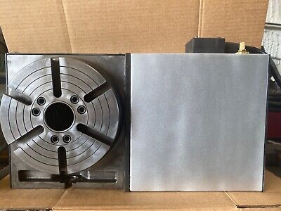 Haas Hrt-210 Hrt-210 Brush 4th Axis Rotary Table See Video 100 Serviced